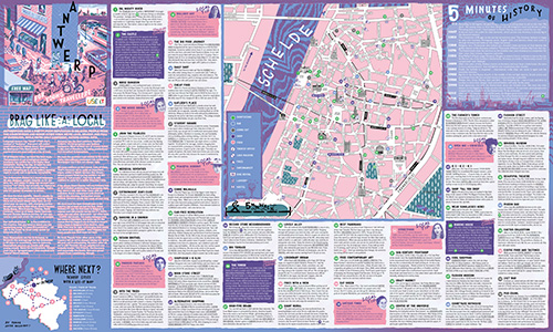 Download Antwerp City Map