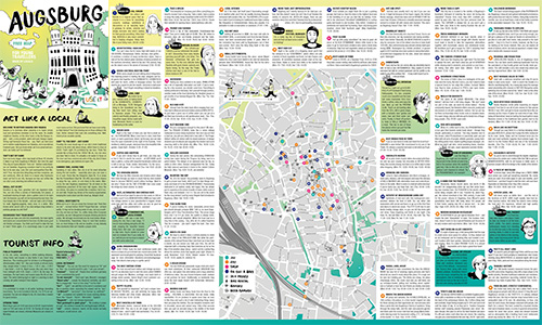 Download Augsburg City Map