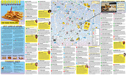 Download Brussels City Map