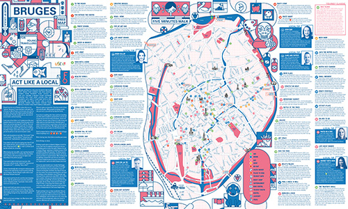 Download Bruges City Map