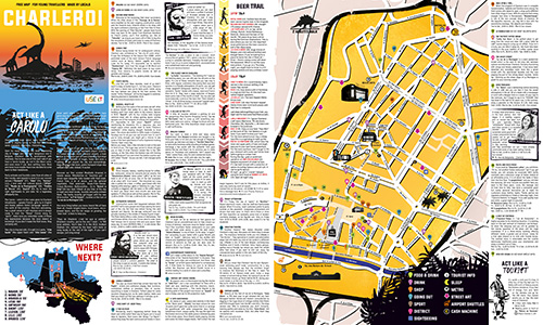 Download Charleroi City Map