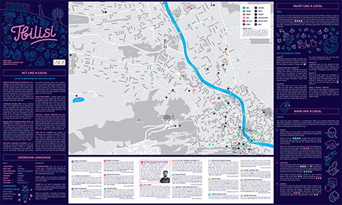 Download Tbilisi City Map